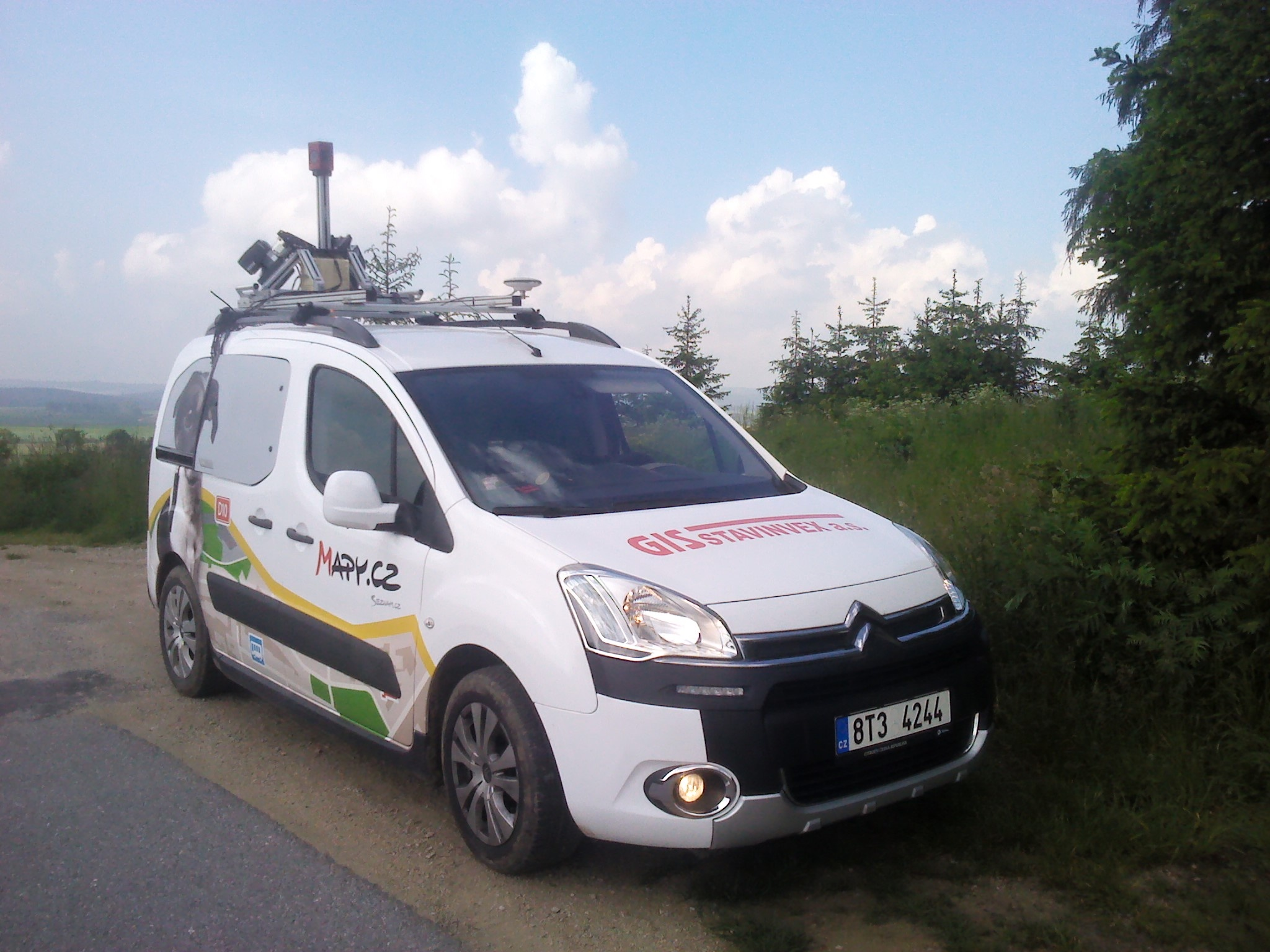 Mobile mapping – GIS – STAVINVEX a s